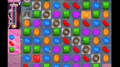 Candy crush saga - level 712 No Booster