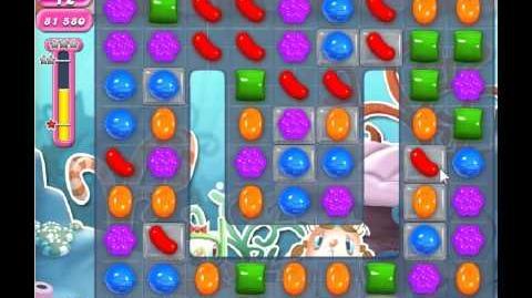 Candy Crush Saga Level 310 - 1 Star - no boosters