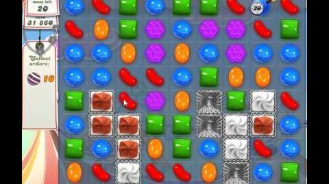 Candy Crush Saga Level 173 - no boosters