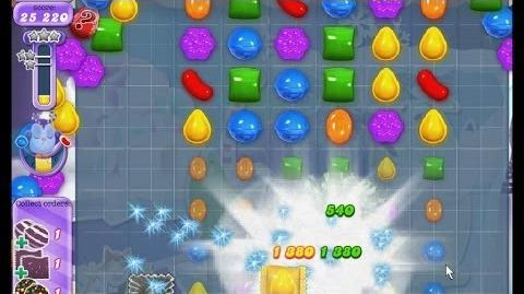 Candy Crush Saga Dreamworld Level 254 - 3 Stars NB