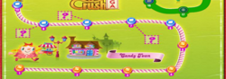 Candy Town Map