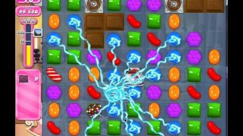 Candy Crush Level 522 (no boosters, 3 stars)
