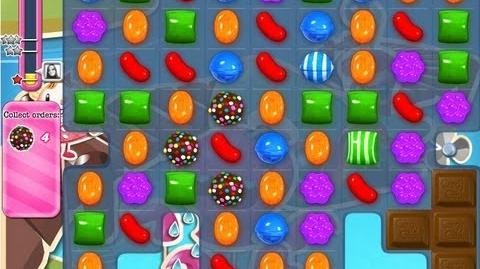 Candy Crush Saga level 135 - Collect 5 Color Bombs NEW
