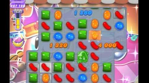 Candy Crush Saga Dreamworld Level 607 (No booster)