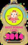 Boring medal