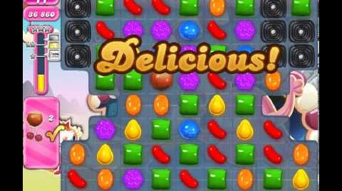 Candy Crush Saga Level 82 - 2 Star - no boosters