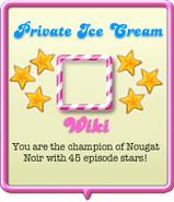 Private Ice Cream