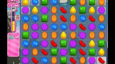 Candy Crush Saga Level 105 ( New with 35 Moves ) No Boosters 3 Stars