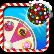 Colour bomb booster wheel icon
