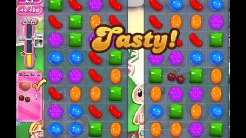 Candy Crush Saga Level 66 - 2 Star - no boosters