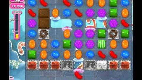 Candy Crush Saga Level 314 - 1 Star - no boosters