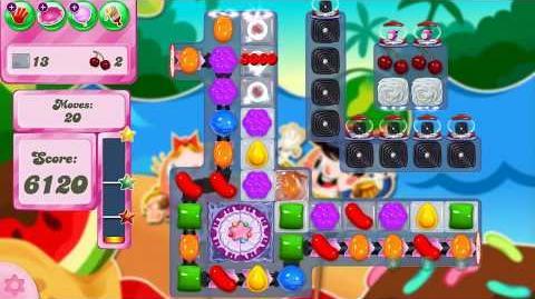 Candy Crush Saga Level 2525