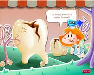 My beautiful teeth is ruined!