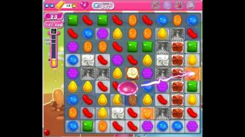 Candy Crush Saga Level 847 No Boosters