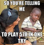 Play level 578 ok