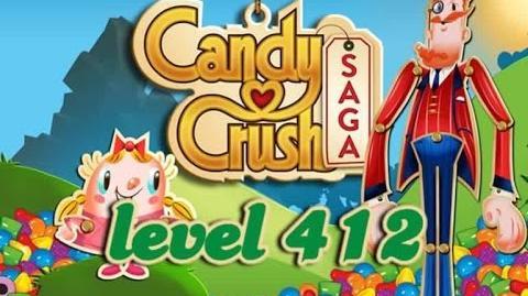 Candy Crush Saga Level 412 - ★★★ - 70,320