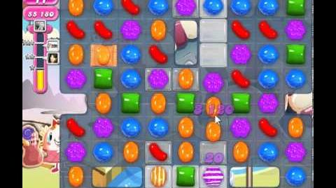 Candy Crush Saga Level 91 - 2 Star - no boosters