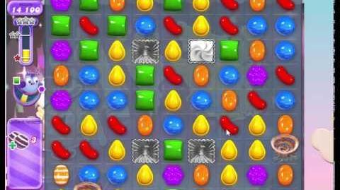 Candy Crush Level 412 Dreamworld, No Boosters, 3 stars
