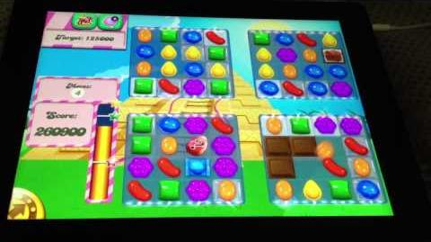 Candy crush level 323 glitch