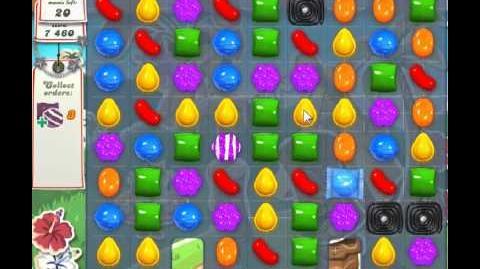 Candy Crush Saga Level 190 - 2 Star
