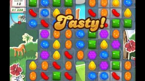 Candy Crush Saga Level 193 - 2 Star - no boosters