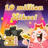 10 million likes