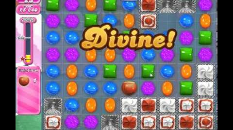 Candy Crush Saga Level 287 - 3 Star - no boosters