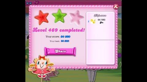 Candy Crush Saga Level 469 ★★ NO BOOSTER