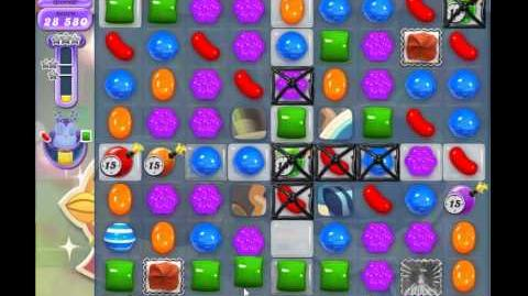 Candy Crush Saga Dreamworld Level 518 - Moon Struck Glitch