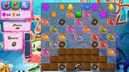 Level 319 mobile new colour scheme (before candies settle)