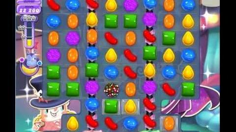 Candy Crush Saga Dreamworld Level 550