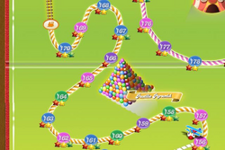 Pastille Pyramid Map Mobile