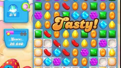 Candy Crush Soda Saga Level 40 (2nd nerfed, 3 Stars)