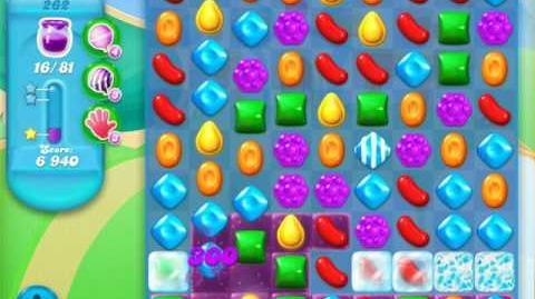 Candy Crush Soda Saga Level 262 (5th version, 3 Stars)