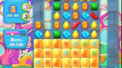 Candy Crush Soda Saga Level 90 (nerfed, 3 Stars)