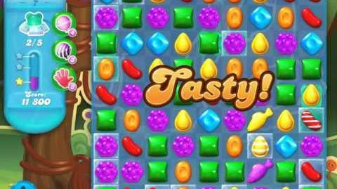 Candy Crush Soda Saga Level 7 (nerfed, 3 Stars)