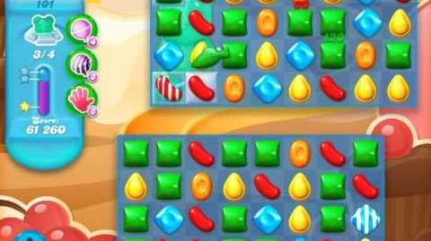Candy Crush Soda Saga Level 101 (3rd version, 3 Stars)