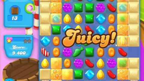 Candy Crush Soda Saga Level 128 (nerfed, 3 Stars)