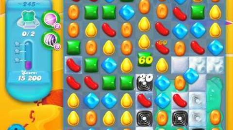 Candy Crush Soda Saga Level 245 (nerfed, 3 Stars)