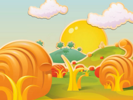 Licorice Pastures background