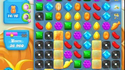 Candy Crush Soda Saga Level 162 (nerfed, 3 Stars)