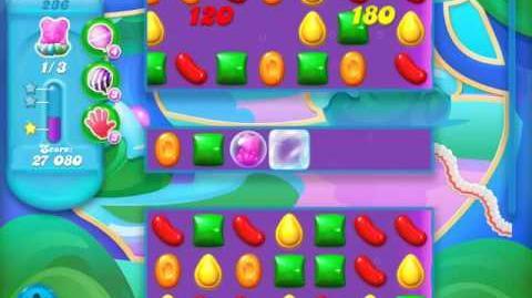 Candy Crush Soda Saga Level 236 (nerfed, 3 Stars)