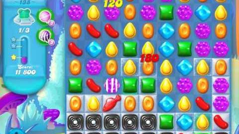 Candy Crush Soda Saga Level 138 (nerfed, 3 Stars)