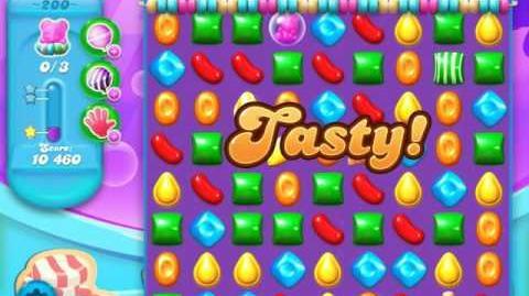 Candy Crush Soda Saga Level 200 (3rd version, 3 Stars)