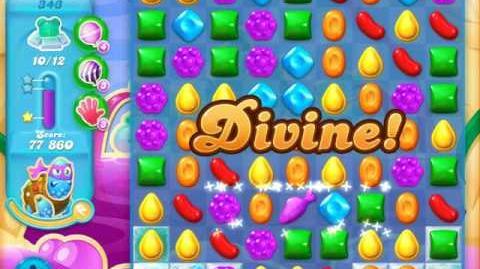 Candy Crush Soda Saga Level 343 (5th version, 3 Stars)
