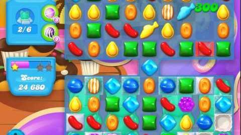 Candy Crush Soda Saga Level 115 (Wrapped candy, 3 Stars)