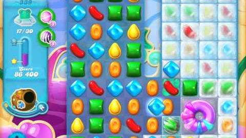 Candy Crush Soda Saga Level 339 (30 bears, 3 Stars)