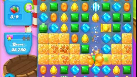 Candy Crush Soda Saga Level 125 (2nd version, 3 Stars)