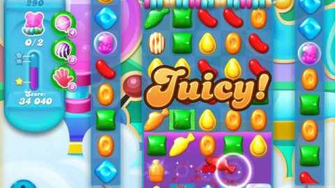 Candy Crush Soda Saga Level 290 (2nd buffed, 3 Stars)
