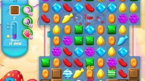Candy Crush Soda Saga Level 45 (5th version)
